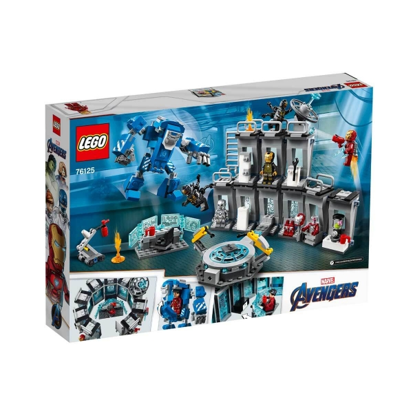 LEGO Marvel Avengers Movie 4 Iron Man Hall of Armor